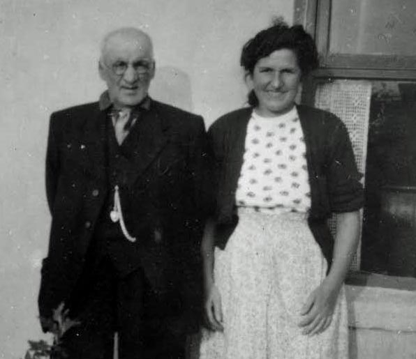 Grandad Entwisle and Mum